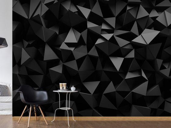 Papier peint 3D pour une décoration murale originale