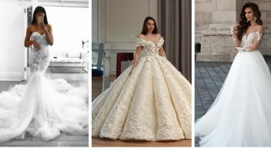 robes de mariée tendance 2018