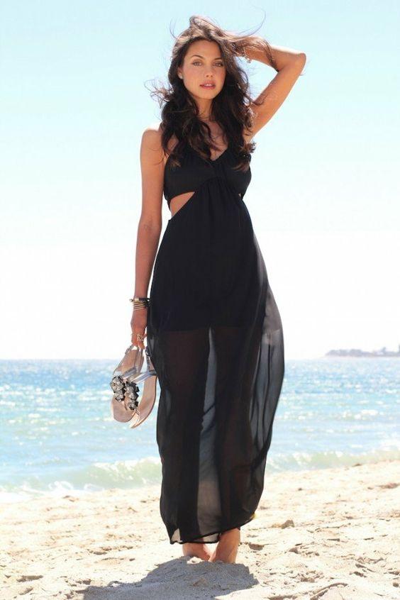 34 id es de tenue de plage moderne pour vos vacances d 39 t. Black Bedroom Furniture Sets. Home Design Ideas