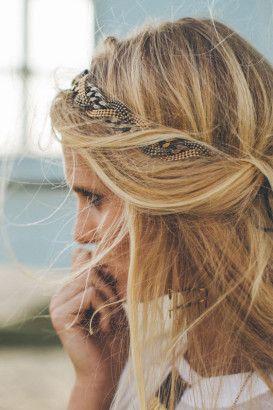 accessoires cheveux à adopter pour l'été