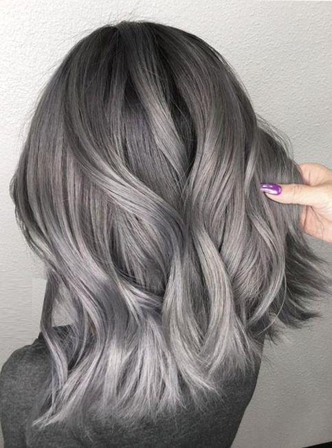 30 Magnifiques Coupes Pour Les Cheveux Gris Qui Subliment