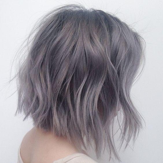coupes pour les cheveux gris