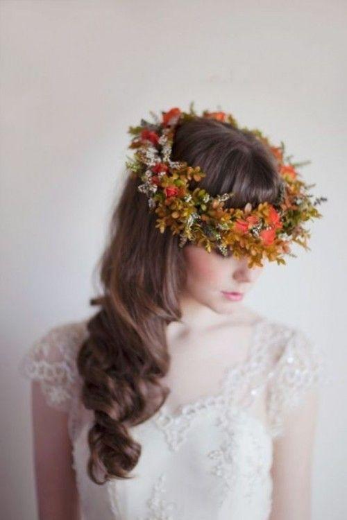 couronnes des fleurs pour mariée tendance 2018