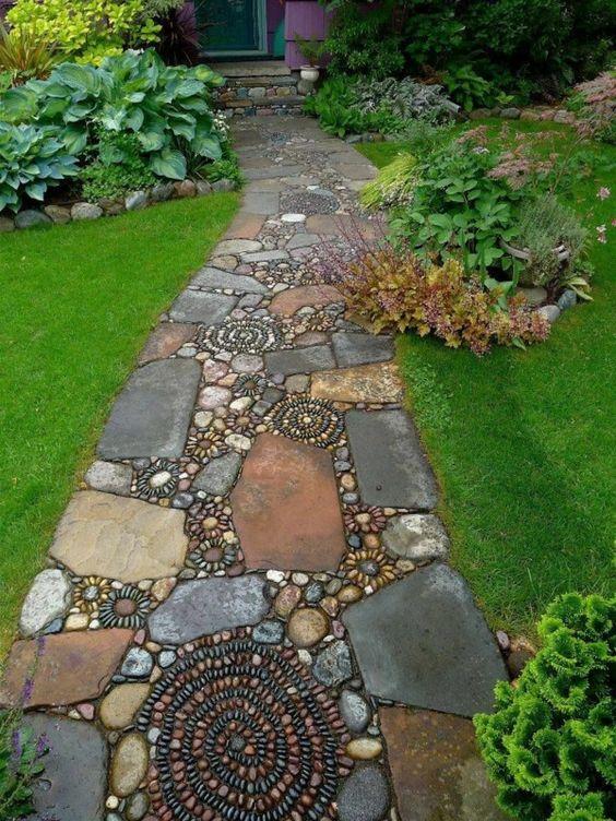33 idées pour une décoration de sol d\'extérieur originale