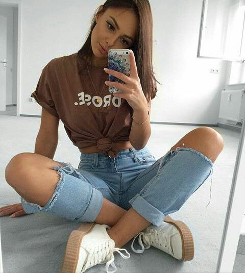 idées très stylées pour porter le T-shirt