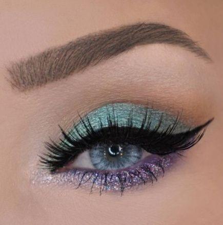 maquillages pour sublimer les yeux bleus