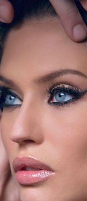 34 id u00e9es de maquillages pour sublimer les yeux bleus