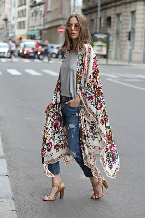 Kimonos tendance 2018