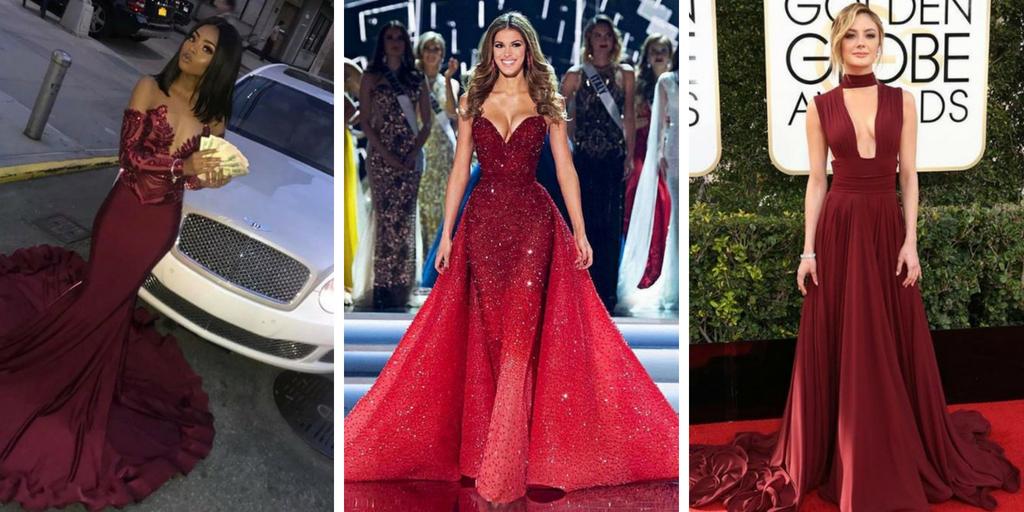 bas prix dernier couleurs harmonieuses 31 sélections de robes soirée rouge tendance 2018