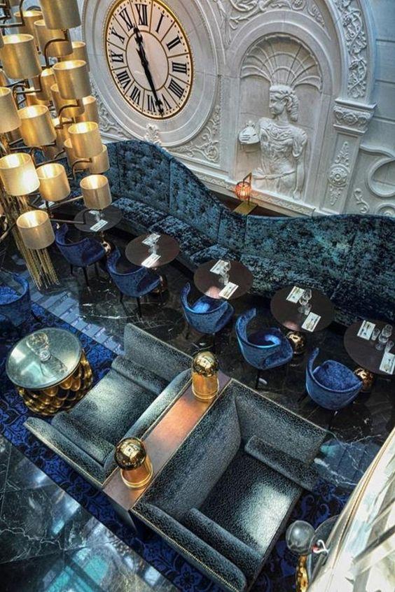 décoration de restaurant et salon de thé