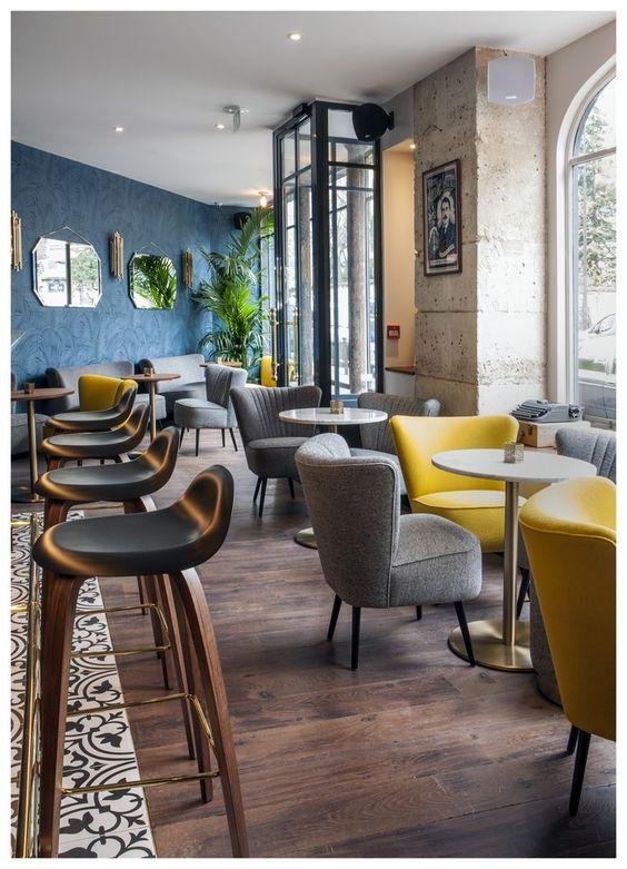 Beau ... Décoration De Restaurant Et Salon De Thé ...