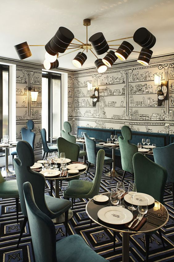 31 magnifiques décorations de restaurant et salon de thé