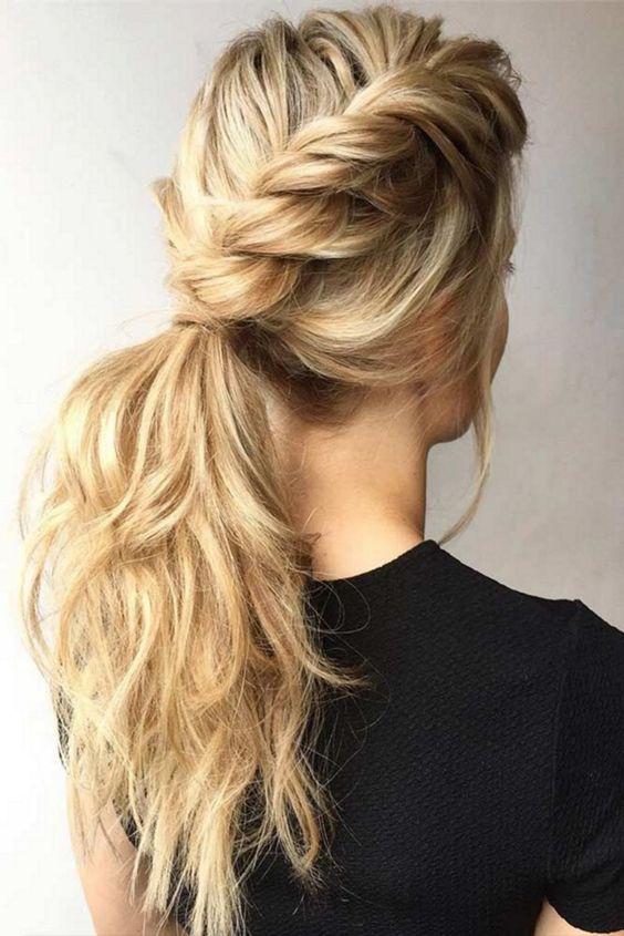 32 magnifiques idées de coiffures faciles