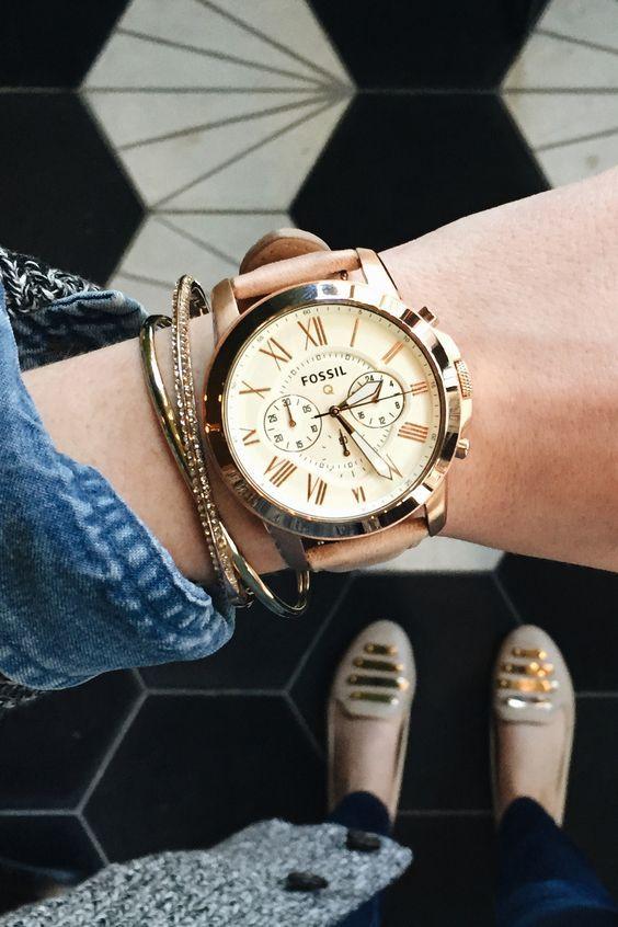 montres chics tendance 2018