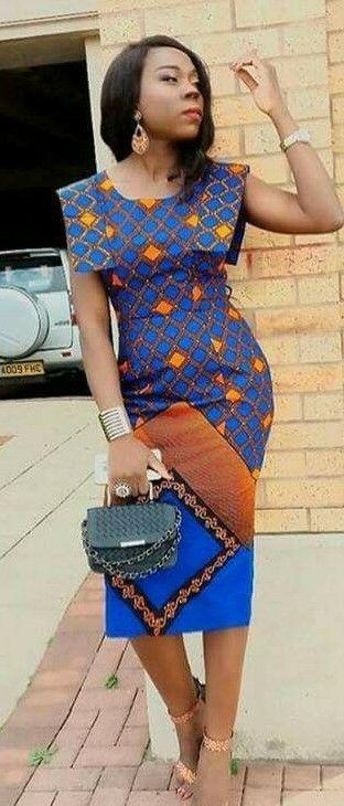 robe africaine chic