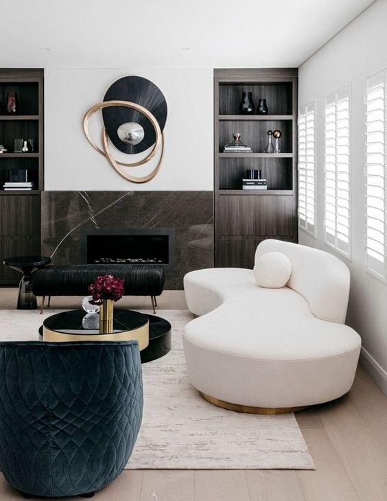 modèles du salon moderne pour 2018