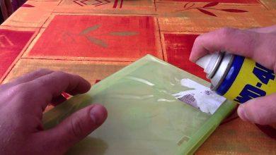 Comment enlever la colle des étiquettes