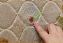 Enlever une tache de sang sur un matelas: Que faire?