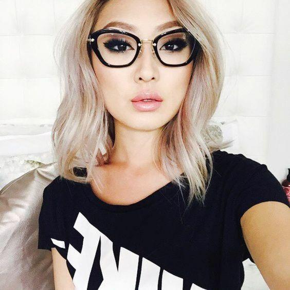 22 adorables lunettes de vue pour femme tendance 2019. Black Bedroom Furniture Sets. Home Design Ideas
