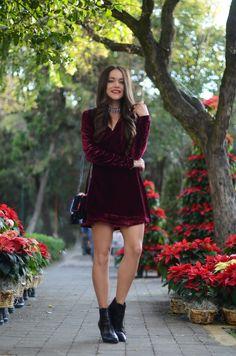 tenues en velours pour femme