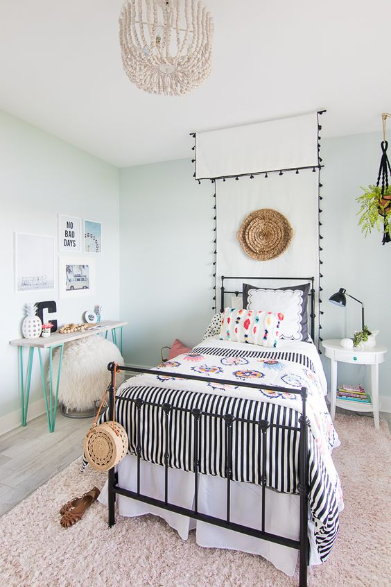 excellent girls beach bedroom decorating ideas | 23 Meilleurs Modèles Du Chambre De Fille Pour 2019 ...