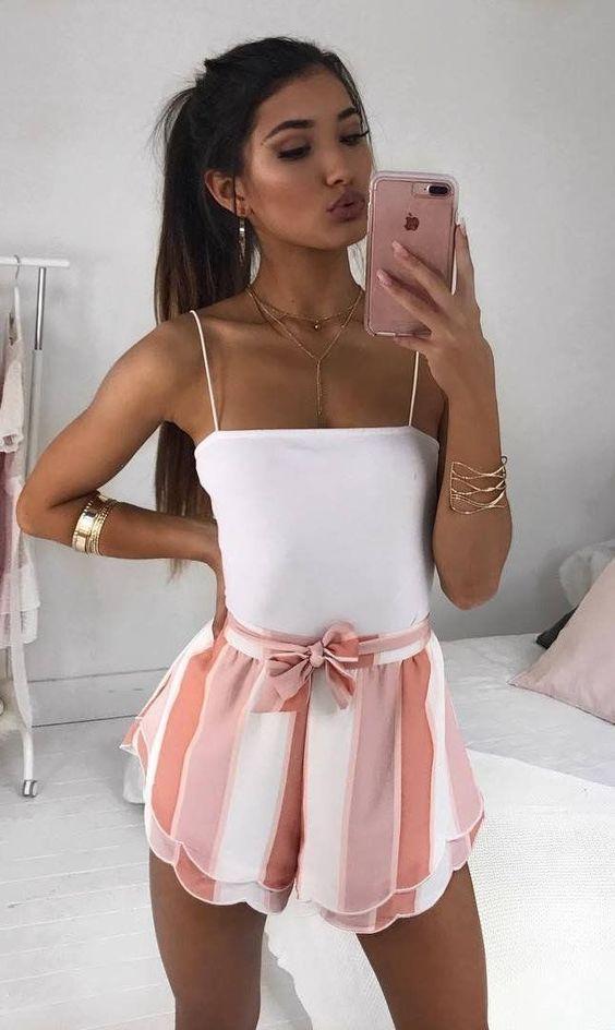 Shorts pour femme tendance été 2019