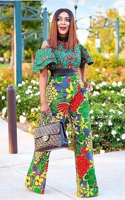 pièces de mode africaine