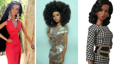 Barbies Noires Viennent De L'Afrique!