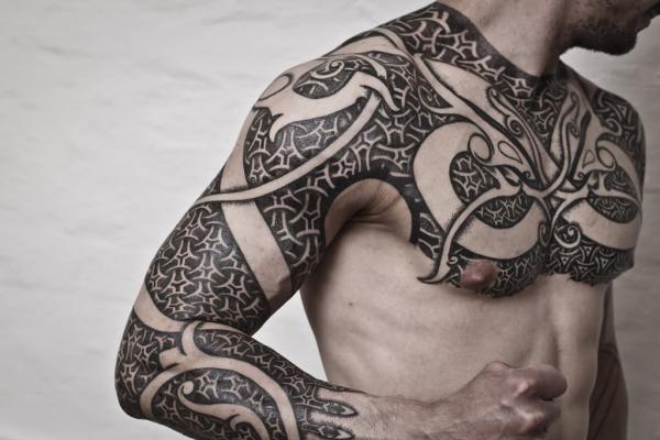 Quelle est la signification du tatouage vikings