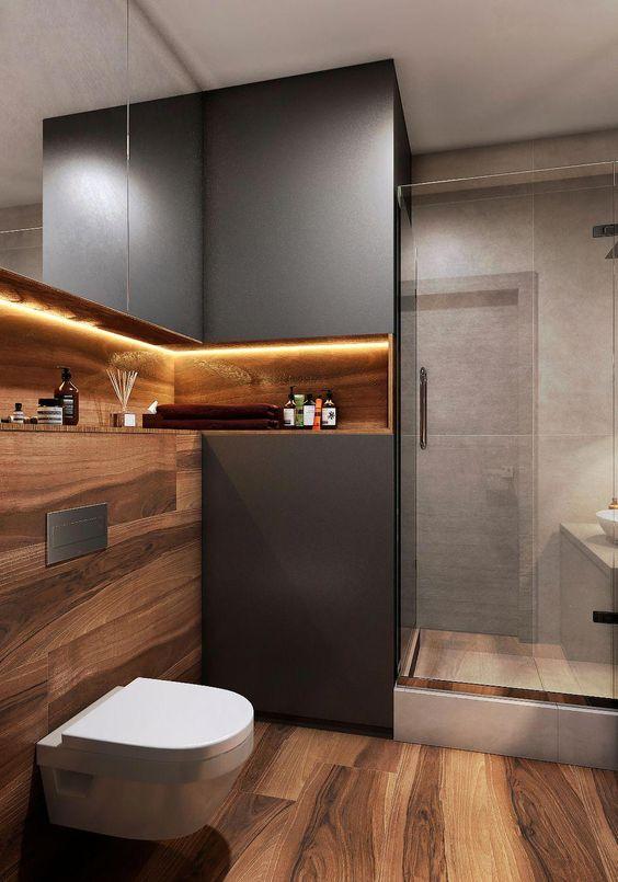 Salle de bain en bois 20 id es pour vous inspirer - Deco salle de bain bois ...