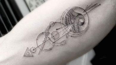 Quelle est la signification du tatouage géométrique