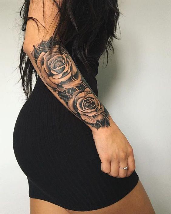 Tattoo Woman Pics: 20 Jolis Tatouages Pour Mettre Ses Bras En Valeur