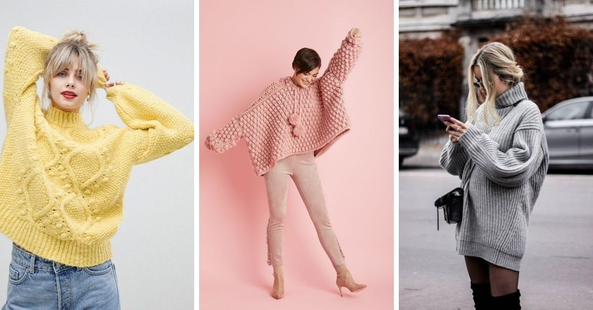 23 Pull Hivernaux tricotés Très In Et Chics Pour Les Femmes