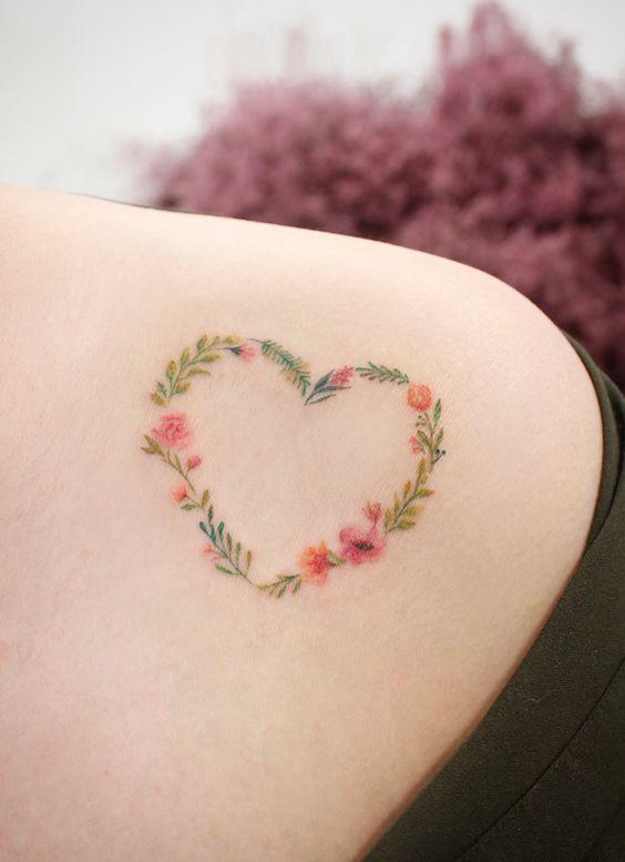 19 Idées De Tatouages Cœur Pour Les Romantiques