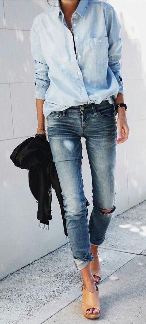 look minimaliste femme 16