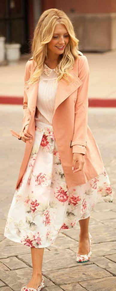 combinaisons de vêtements pastel à la mode