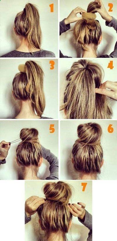 tutoriels de coiffures étape par étape