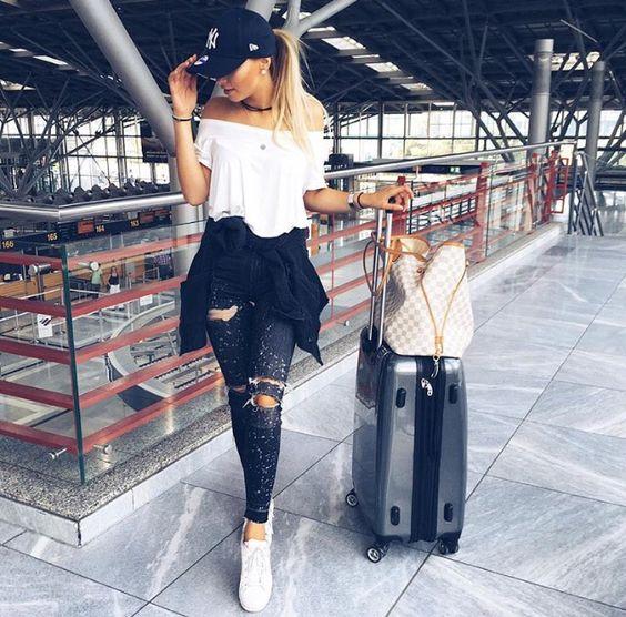 tenue pour prendre l'avion
