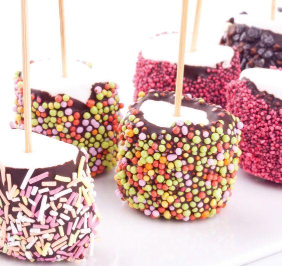 Des marshmallows 100% rigolos pour les enfants !