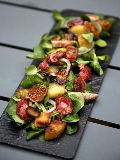 Salade de gésiers gourmande