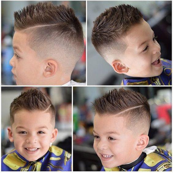 coiffure pour les jeunes messieurs