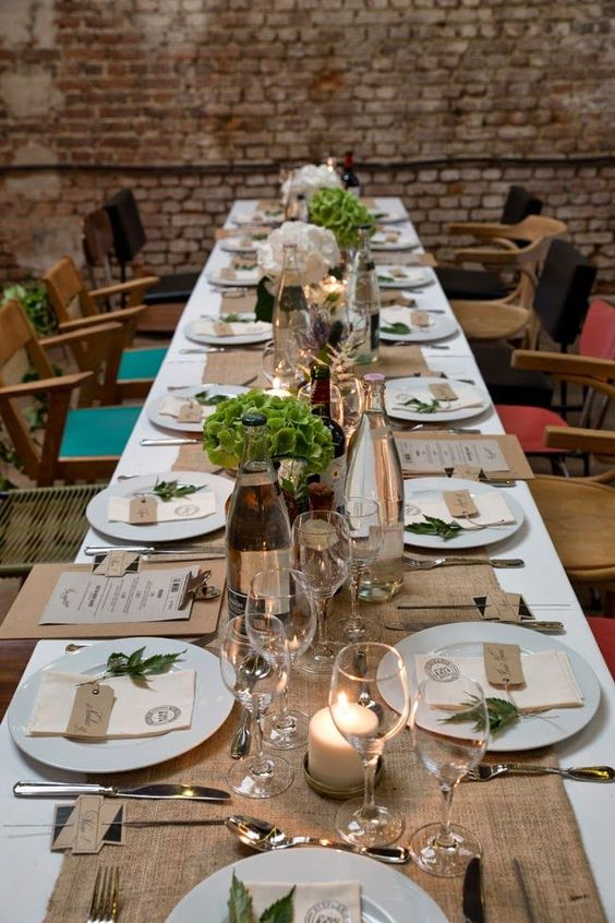 décoration de table