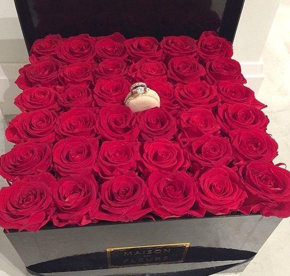 fleurs pour saint valentin