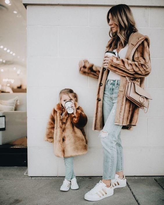 look assortis pour mère et fille