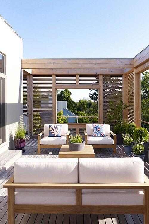 terrasse de toit magnifique