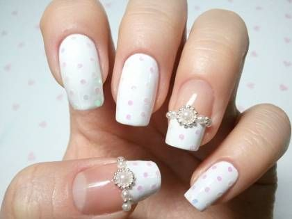 Manucure mariage