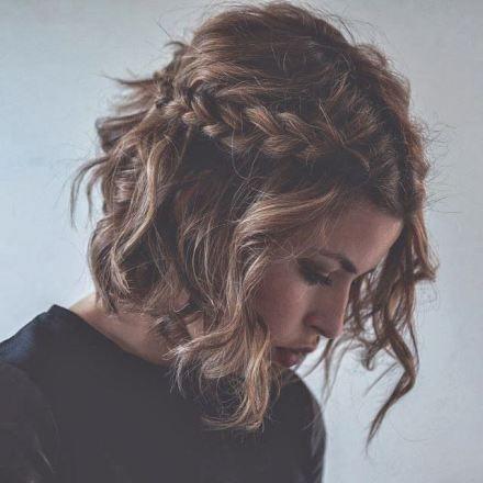 Coiffures Faciles sur Cheveux Courts