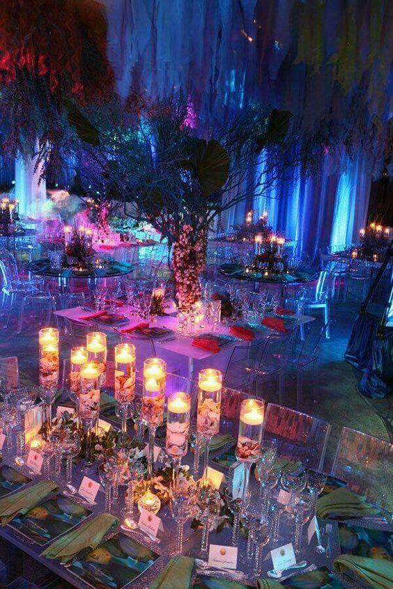 décorations de mariage sur le thème marin