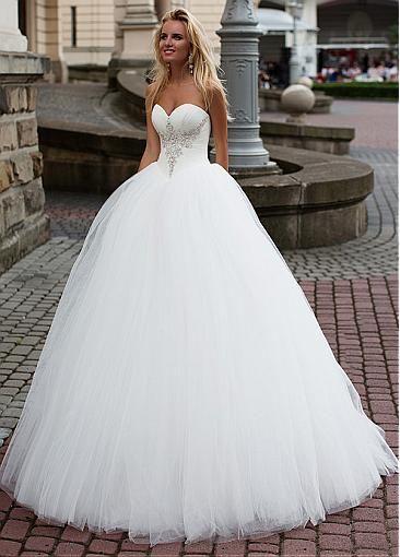 robes de mariée style princesse
