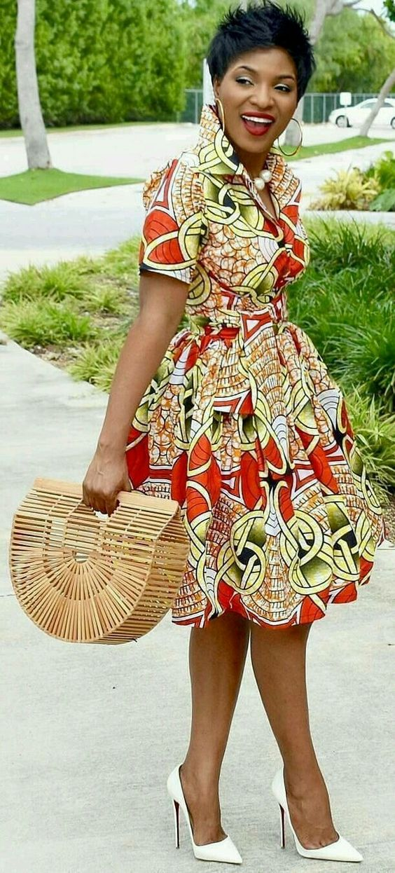 robe africaine chic